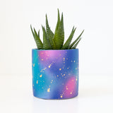 Galaxy Cosmos Cement Planter