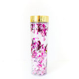 Ghost And Star Metallic Confetti Halloween Drink Tumbler