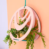 Hanging Wood Planter Stand Craft Kit