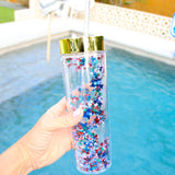 4th of July Star Confetti Tumbler