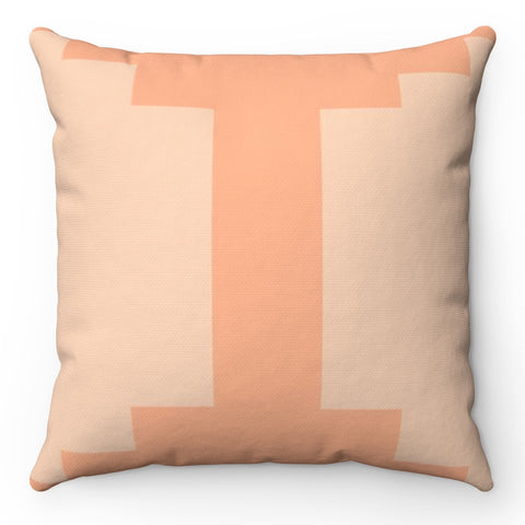 Terra Cotta Aztec Throw Pillow