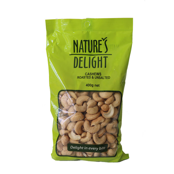 Roasted & Unalted Cashews