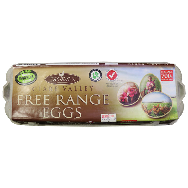 700g Free Range Eggs - Clare Valley