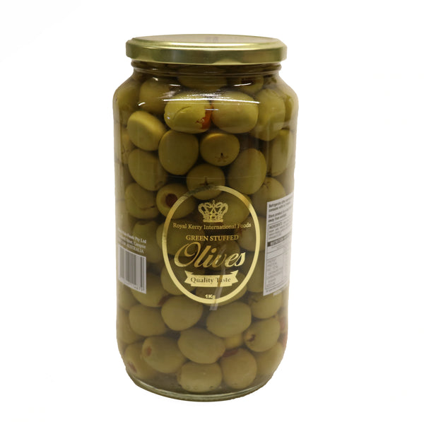 Green Stuffed Olives - Royal Kerry - 1KG