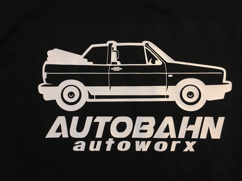VW MK1 Rabbit Convertible Cabby  Shirt - Autobahn Autoworx