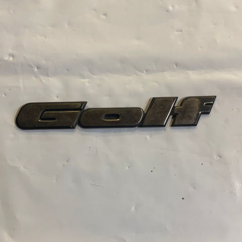 Golf badge