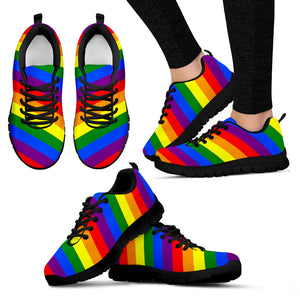 Gay Pride Rainbow Sneakers