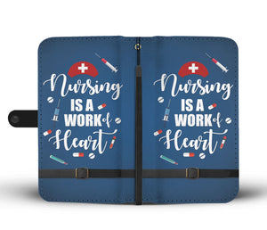 Proud Nurse Wallet Phone Case