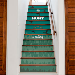 Hunting Inspired House Stair Sticker - NS06