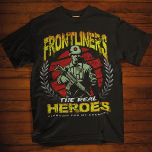 Frontliners the Real Heroes (Army)