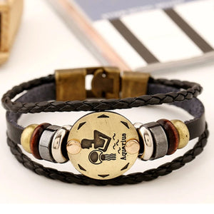 AQUARIUS ZODIAC SIGN BRACELET (JAN 20 – FEB 18)