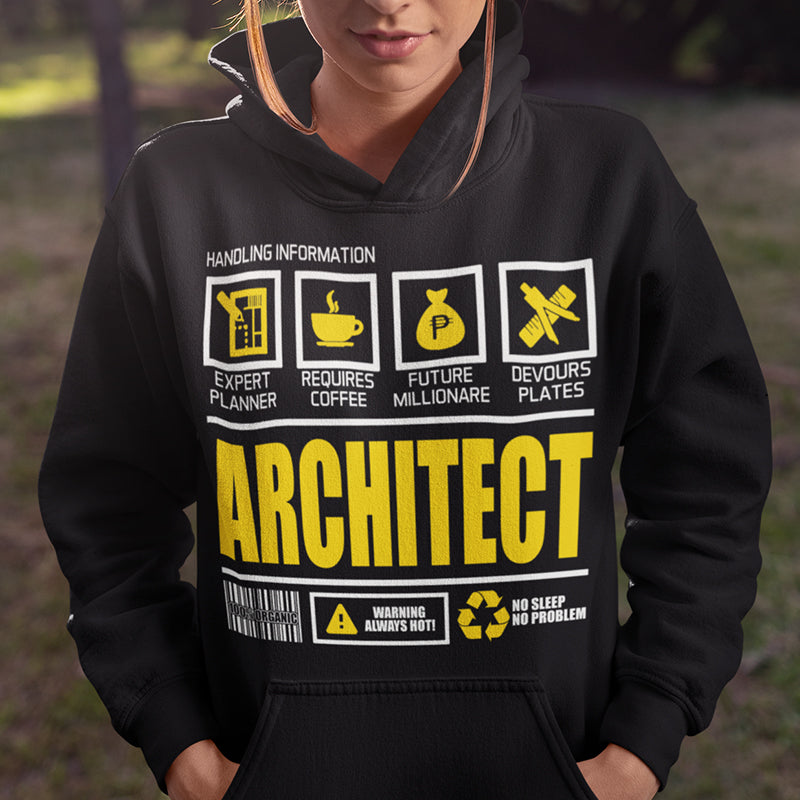 Architect Inspired Pullover Hoodie