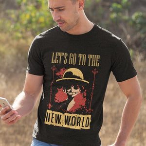 Let's Go to the New World (Mugiwara Tee)