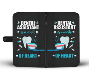 Dental Assistant Wallet Phone Case