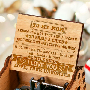 To My Mom - Love Your Daughter Music Box MBX36
