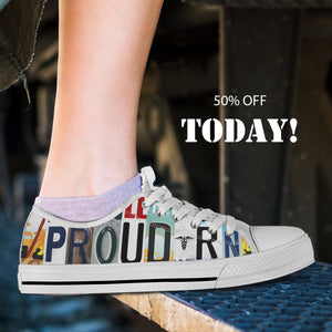 Proud RN Low Top Shoes