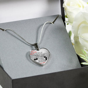 Mom's Love to His Son - Luxury Necklace