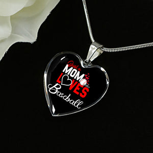 Baseball Mom Personalised Luxury Necklace