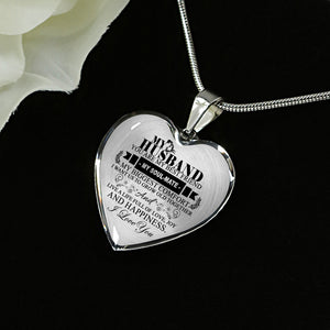 My Husband - Silver Luxury Necklace