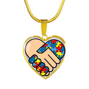 Autism Awareness United Luxury Necklace