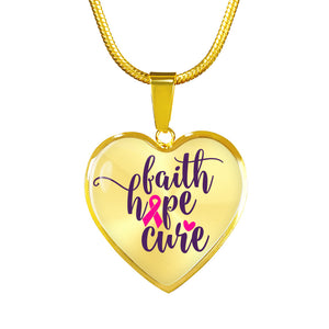 Breast Cancer Awareness United Necklace