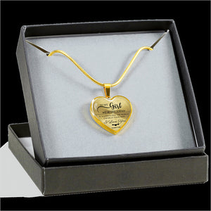To My Girl - Wear this Always Luxury Necklace (Gold)