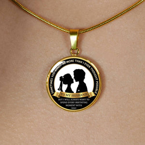To My Husband - Luxury Gold Necklace