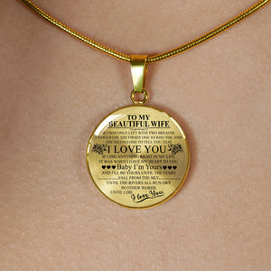 To My Beautiful Wife - Luxury Necklace