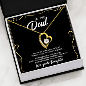 To My Dad - Love Your Daughter Necklace SO101