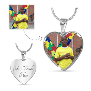 Autism Personalised Luxury Necklace