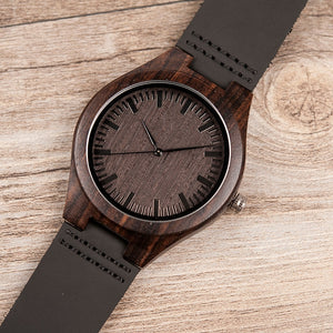 To My Man - Wood Watch - NLW07