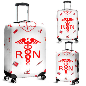 Proud Nurse Luggage Cover