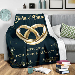Forever & Always Custom Blanket