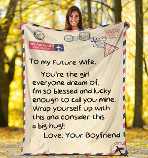 To my Future Wife - Message Blanket