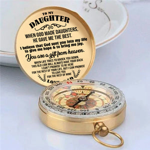 To My Daughter Love Dad Compass  NC-01