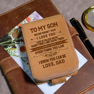 To My Son Love Dad 2 - Wallet NLZW - 06