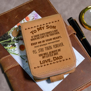 To My Son Love Dad 5 - Wallet NLZW - 09