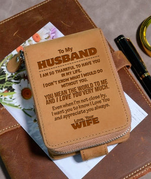 To My Husband - Wallet NLZW - 12