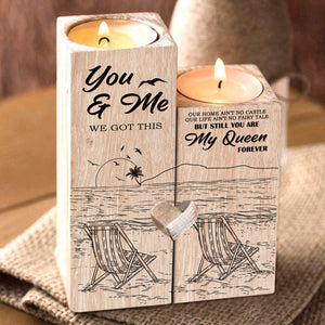 You and Me Candle Holder  CH-04