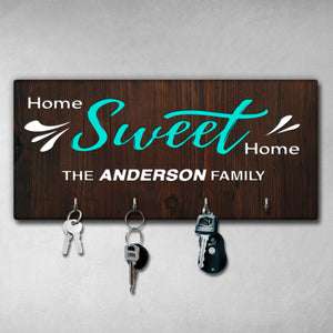 Personalized Wooden Key Holder NKH-01