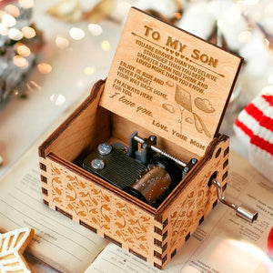 To My Son - Love Your Mom Music Box MBX47