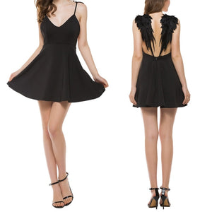 Node Lux Angel Wing Dress