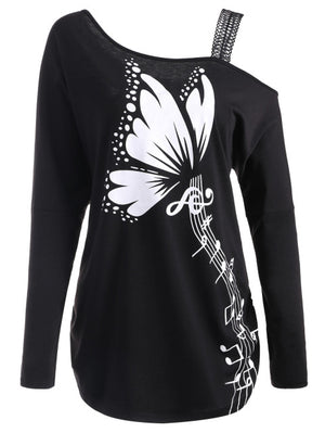Butterfly Musical Notes Dress