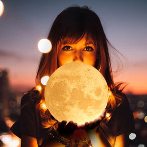 To My Son - Mom 3D Moon Lamp LED