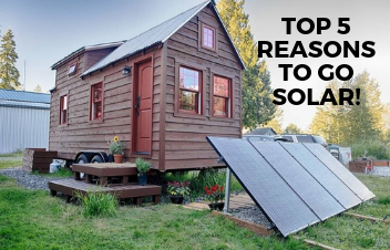 Top 5 Reasons to Go Solar Now! We Explain it to you