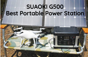 Best Portable Power Station - SUAOKI G500