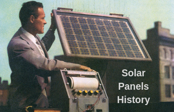 History of Solar Panels and Solar Energy
