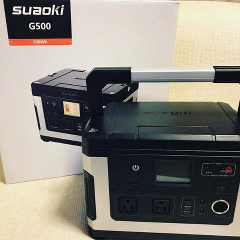 SUAOKI G500 Best portable power station