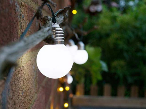 SUAOKI outdoor solar lights bulbs