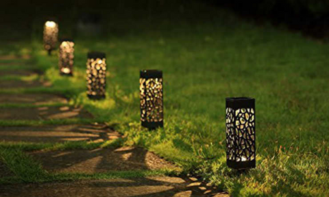 SUAOKI outdoor solar lights pathway